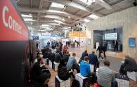 fkm Messen bieten Kontakte zu Berufsanfängern, Quelle: Hannover Messe, CeMat 2018 / Rainer Jensen
