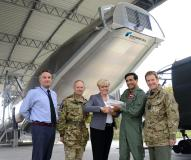 Rheinmetall transfers Cargo Hold Trainer Enhanced for the A400M to Royal Air Force