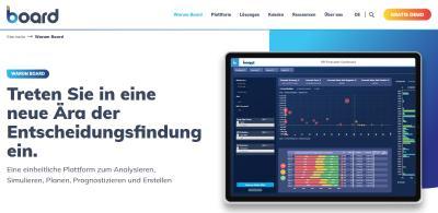 Board International, führender Software-Anbieter einer All-in-One-Plattform, die Business Intelligence (BI), Performance Management und Advanced Analytics integriert, wird als Leader in den drei G2 Grids Self-Service BI, Analytics-Plattformen und Predictive Analytics eingestuft.