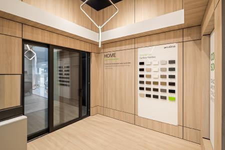 Schüco Showroom Frankfurt am Main: Themenstudio Home, Bildnachweis: Schüco International KG, Fotograf: Lukas Palik