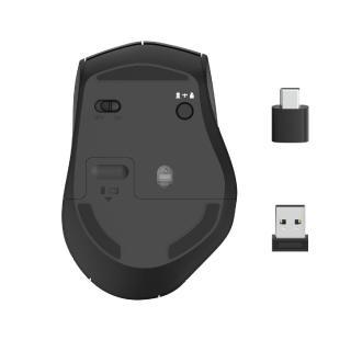 """Hama Funkmaus """"MW-600"""" mit USB-A- und USB-C-Empfänger"""