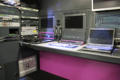 Inside view of TF1's new DSNG