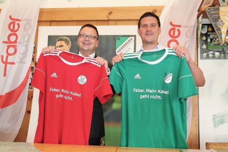 Faber Kabel wird Hauptsponsor des SV Auersmacher