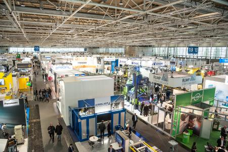 EuroBLECH Messehalle / Exhibition Hall