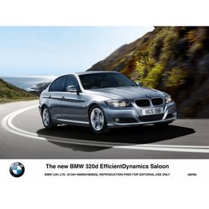 The new BMW 320d EfficientDynamics Saloon (08/2009)