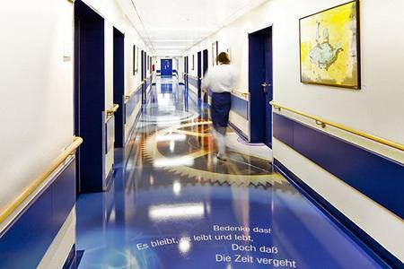 Blick auf die Station | Quellenangabe: S + A Klinik für MIC