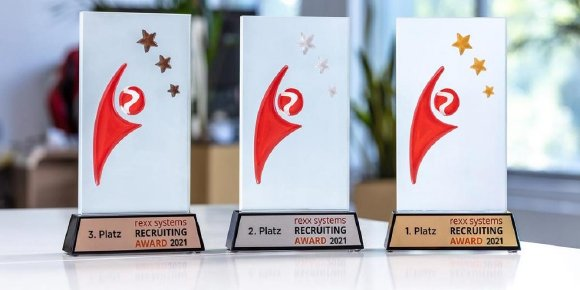 Die rexx systems Recruiting Awards 2021 (Bildquelle: rexx systems)
