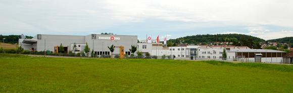 Neues Logistikzentrum in Althengstett, Außenansicht