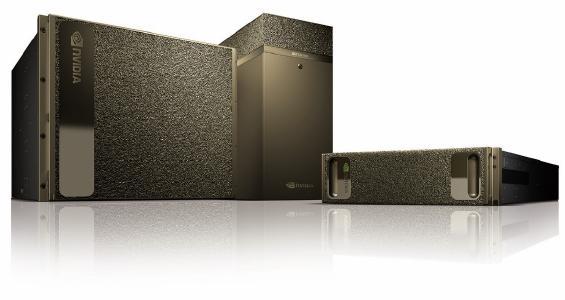 Bild 1: NVIDIA DGX Systeme können innerhalb oder außerhalb eines Datencenters eingesetzt werden