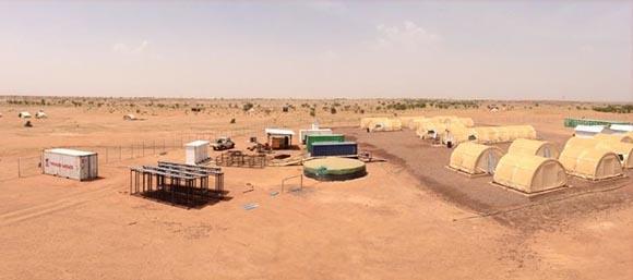 Auf dem DASA-Projekt; Foto: Global Atomic