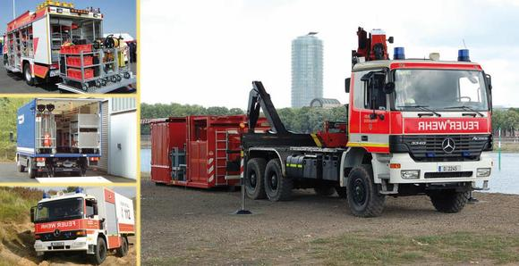 Fahrzeuge - Abrollbehälter - Rollcontainer - Nachschub