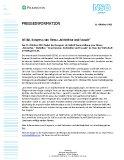 Pressemitteilung Nr. 47 Pilkington Deutschland AG 11. Oktober 2021