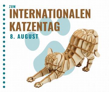 Spiele- und Puzzle-Empfehlungen zum Internationalen Tag der Katze