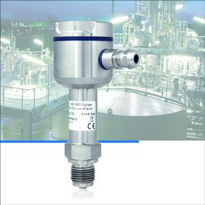 The new AFRISO pressure transducer DMU 02 Vario FG can be used in rough ambient conditions / Typical application areas include plant engineering, mechanical engineering, process engineering, food and pharmaceutical industries