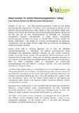 [PDF] Pressemitteilung: Neuer Investor für Online-Übersetzungsplattform Tolingo
