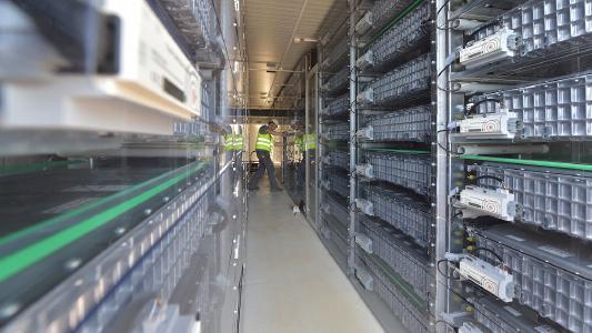 Batteriespeicher in Herdecke / Bildnachweis: BELECTRIC