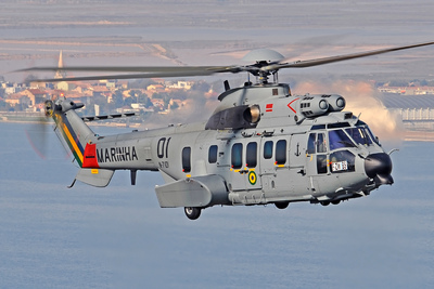 Eurocopter's expanding presence in Latin America with its Helibras Brazilian affiliate is highlighted at the LAAD 2011 defense show