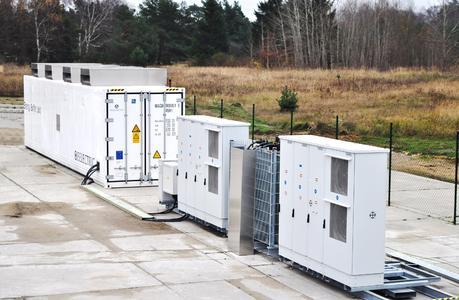 BELECTRIC Batteriespeicher auf dem Solarkraftwerk in Alt Aber