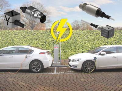 Ideal für Elektrofahrzeuge: Die neuen, doppelt isolierten ultramini Triax-Vibrationssensoren
