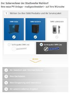 SWW Onlinekonfigurator