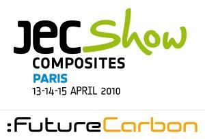 FutureCarbon GmbH ist Austeller auf der JEC Composites vom 13. bis zum 15.4.2010 in Paris