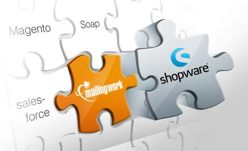 mailingwork launcht Shopware®-Schnittstelle