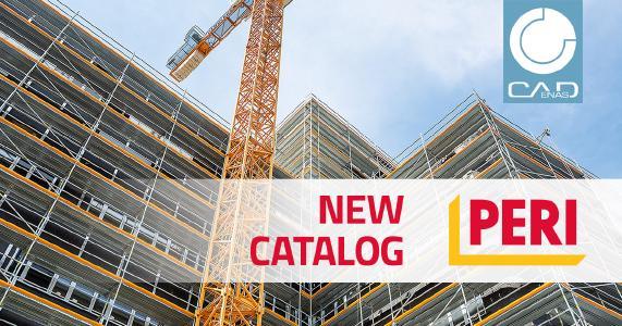 Neue BIM CAD Bauteilbibliothek von PERI für den Gerüstbau powered by CADENAS