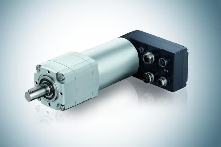 Der Antrieb ECI 63.40 mit K5-Elektronik und dem Getriebe Optimax63 von ebm-papst eignet sich besonders für anspruchsvolle Automatisierungsaufgaben