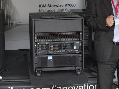 IBM Storwize-Bus auf großer Deutschland-Tour