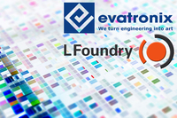 Evatronix IP Cores Now Available in the LFoundry Process Design Kit (PDK)