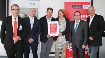 arvato Systems Receives eco 'Datacenter Star' Certification for its Data Center