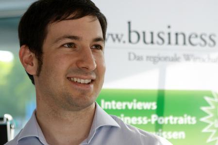 Christian Weis, Gründer der Plattform Business on.de