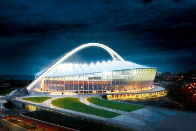 Lending a shine to the soccer world cup in South Africa