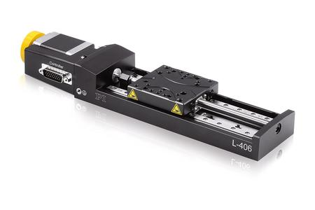 Compact L-406 series linear stage for loads up to 10 kg