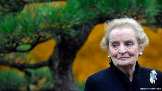 Albright optimistic about rebuilding trust between Europe and the US