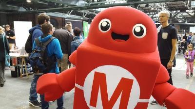 Makey - das Maskottchen der Maker Faire / Quelle: Sylke Wilde