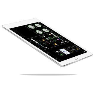 iHaus Smart Home App auf dem iPad