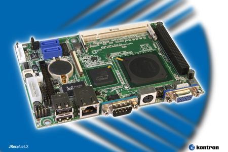 Kontron 3.5 Zoll SBCs unterstützen PC/104-plus I/O-Boards