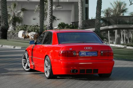 New styling from JMS for the Audi A8 D2