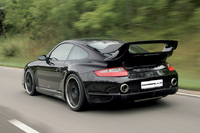 Delivers powerful thrust in attractive package: GEMBALLA Turbo GT 550, based on the Porsche 997 turbo