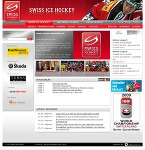 Das Internet-Portal des Schweizer Eishockeys macht die integrierte Markenkommunikation komplett. Münchener Online-Spezialist BTD Newmedia sorgte mit dem Web-Relaunch neben der Design-Adaption für mehr Funktion.