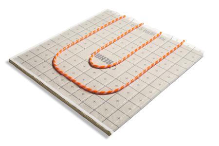 Die RAUTHERM SPEED silent Systemplatten sind ideal für Objekte mit gehobenen Trittschall-dämmanforderungen geeignet. (Bild: REHAU)