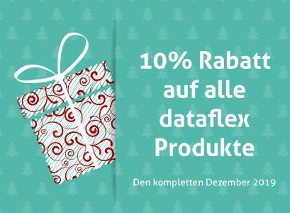 Dataflex Shop 10% Rabatt Dezember 2019