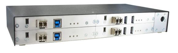 IHSE erweitert Draco vario KVM-Serie um neue USB-3.0-Extender