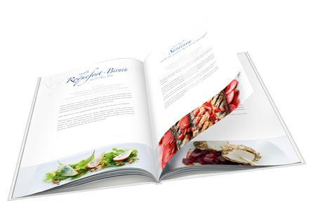 """Das Foto-Kochbuch """"À la Lafer"""" von CEWE bietet die Möglichkeit, ausschließlich Gerichte einzufügen, die dem persönlichen Geschmack entsprechen"""