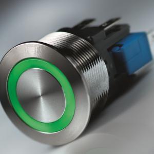Metal Line Taster mit 7 homogenen Beleuchtungsfarben