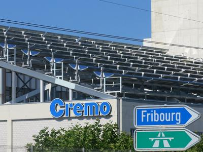 NEP Solar Collector Field at Cremo SA, Switzerland