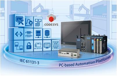 Industrie PC-Steuerungen auf Basis IEC 61131-3 mittels CODESYS