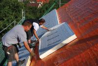 Grundvoraussetzung für den Dachausbau zu Wohnzwecken ist ein guter Wärmeschutz.