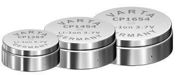 Die CoinPower-Zellen-Serie von VARTA Microbattery